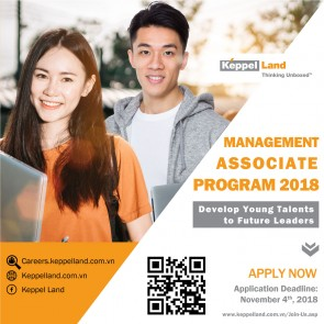 [English] Management Associate Program (MAP) 2018 / Keppel Land Vietnam