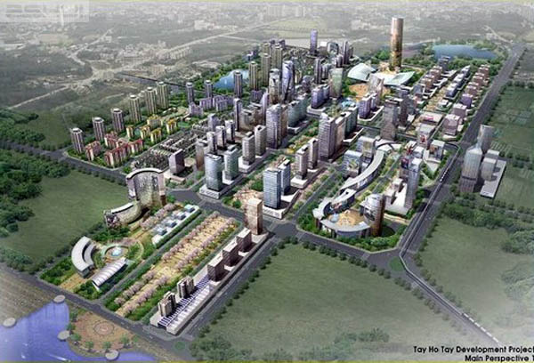 Dự án Khu trung tâm Khu đô thị Tây Hồ Tây: Tiềm lực của chủ đầu tư Hàn Quốc