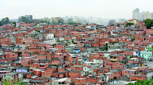 Khu ổ chuột độc đáo tại Brazil